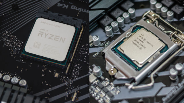 AMD Ryzen intel Core シリーズ