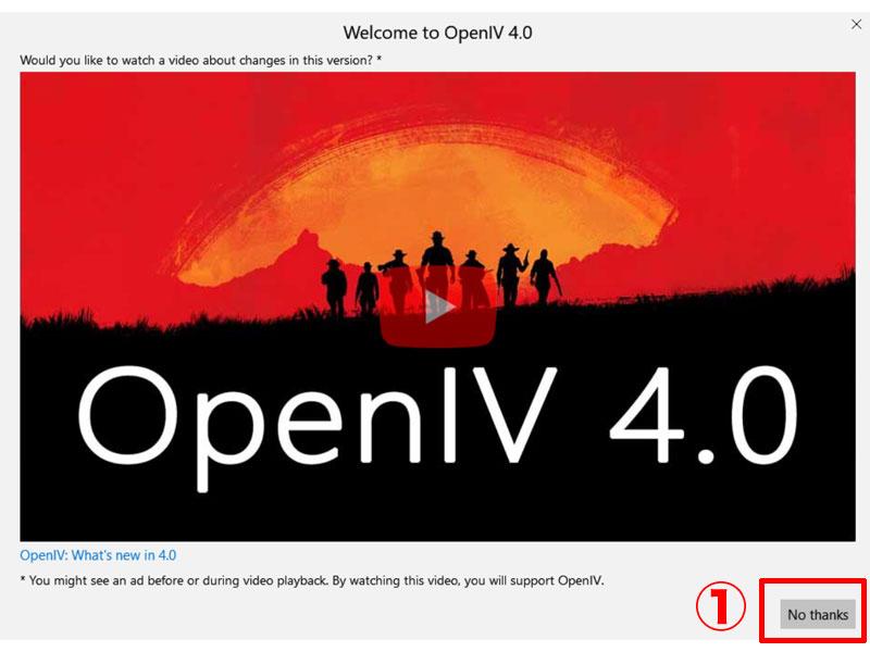 OPEN IV SETUP④