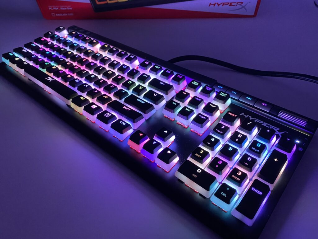 HyperX Alloy Elite 2 ライティング