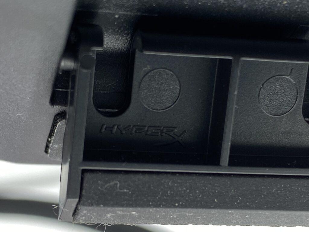 HyperX Alloy Elite 2 裏側ラバー部分(高さ調節用足裏の裏)